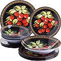 30671 Набор стеклянной посуды 19 пр LR (х2)