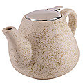 29358 Заварочный чайник 950мл керамика БЕЖЕВЫЙ LR (х24)