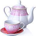 27846 Чайный сервиз 13 пр фарфор 220мл LR (х4)