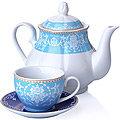 27847 Чайный сервиз 13 пр фарфор 220мл LR (х4)