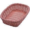 28250 Корзина плетёная пластик 26,5х19см МВ (х72)