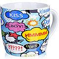 24486-1 Кружка 320мл KISS LR в под/упак (х48)
