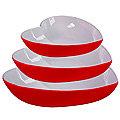 29576 Набор салатниц керамика 3 пр LR (х6)