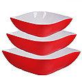 29592 Набор салатниц керамика 3 пр LR (х6)