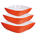 29594 Набор салатниц керамика 3 пр LR (х6)