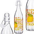 27067 Бутылка стекло 1 литр ЛИМОН MB (х12)